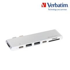 허브 듀얼 차징 Type-C with HDMI 실버
