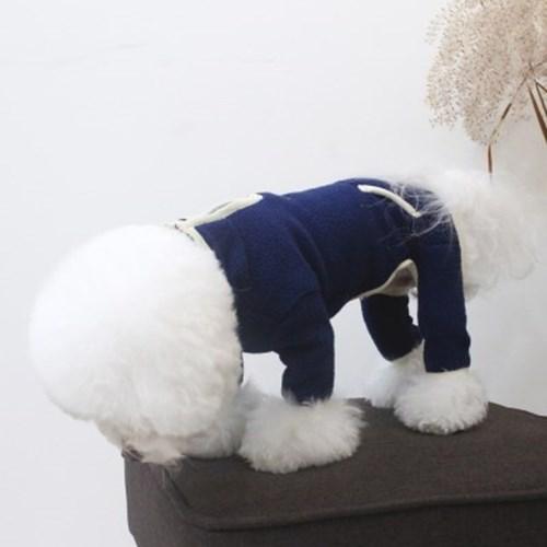 [A.웜플리스올인원]warm fleece AIO_Navy