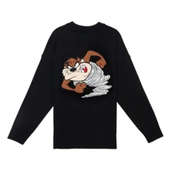 [SS19 STEREO X LOONEY TUNES] Patch Knit(Black)_(666083)