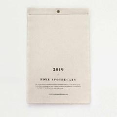 2019 패브릭달력