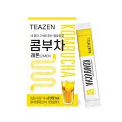[티젠] 콤부차 레몬 4주분 (90스틱+보틀)