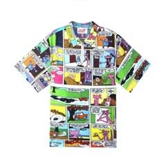 [SS19 Pink Panther] Comics Shirts(Blue)_(673252)