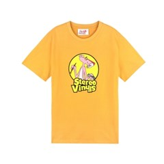 [SS19 Pink Panther] PP Vintage T-Shirts(Yellow)_(673234)