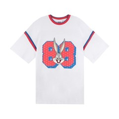[SS19 Looney Tunes] 88 Bunny Over Fit T-shirts(White)