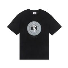 [SS19 Looney Tunes] Circle Logo T-Shirts(Black)_(677465)