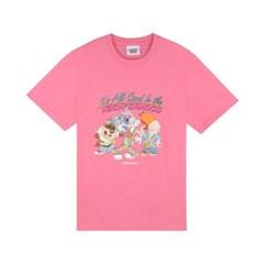 [SS19 Looney Tunes] LT Neiborhood T-Shirts(Pink)_(677463)