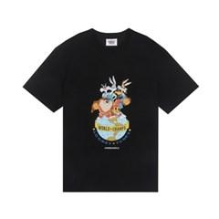 [SS19 Looney Tunes] LT World Champ T-Shirts(Black)