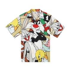 [SS19 Looney Tunes] LT Friends Shirts(White)_(677456)