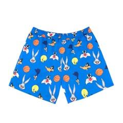 [SS19 Looney Tunes] LT Pattern Short Pants(Blue)_(677452)
