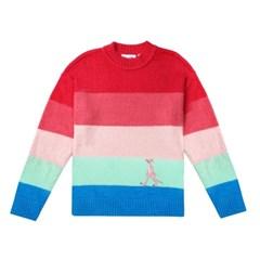 [FW19 Pink Panther] Stripe Knit(Pink)_(703997)