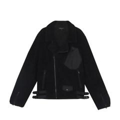[예약][FW19 Stereo Vinyls] Boa Rider Jacket(Black)_(704007)