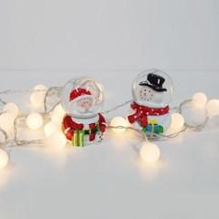 산타와 눈사람 미니 워터볼 2종세트