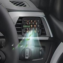 퓨리365 자동차 공기정화기(블랙) / 미세먼지 정화/도르만스코리아