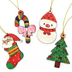 크리스마스나무목걸이-7종세트