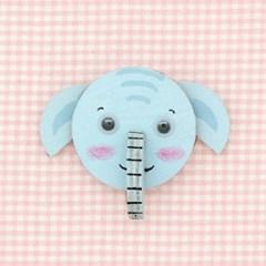 동물친구자석만들기-코끼리