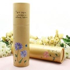[누름꽃공예]-원형종이필통(5인세트)