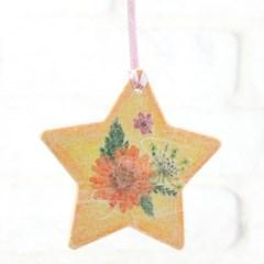 누름꽃 향기나무걸이-별(5인용세트)