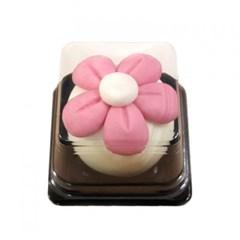 [비누클레이] 분홍꽃떡비누(10인용)