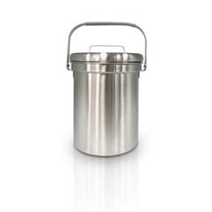 [올품락]가정용 스텐 음식물쓰레기통 스텐형