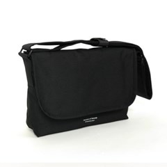 906 MINI MESSENGER BAG BLACK