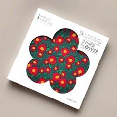 제이씨핸즈 이너플라워손수건 04_Flower of Red