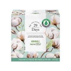 29Days 리얼코튼 유기농 생리대 대형 1팩(14P)
