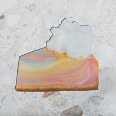 [빌리엔젤] 레인보우 치즈 케이크 마우스 패드