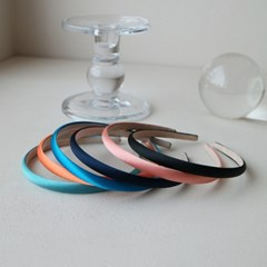 classic satin hairband 小 (6colors)