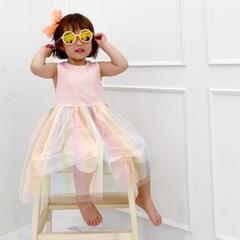 [마미버드] 레인보우원피스 (핑크)