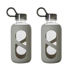 크롬 핸디 트라이탄 물병 2P세트 (500ml+500ml)