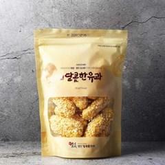 국산찹쌀을 발효해 만들어 쫀득하고 달콤한 유과 120g