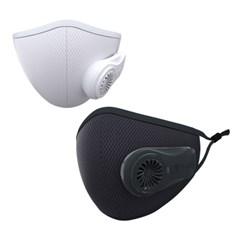 BIO2 AIR 공기 순환 청정 전자식마스크_미국FDA등록 MB필터