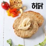 [허닭] 오븐 스테이크 떡갈비 100g 1팩