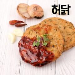 [허닭] 오븐 스테이크 매콤불닭 100g 1팩