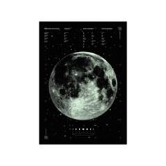 달빛 야광 패브릭 포스터