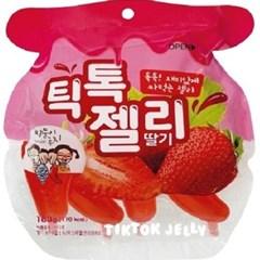 틱톡젤리 딸기 160g (40g*4입)