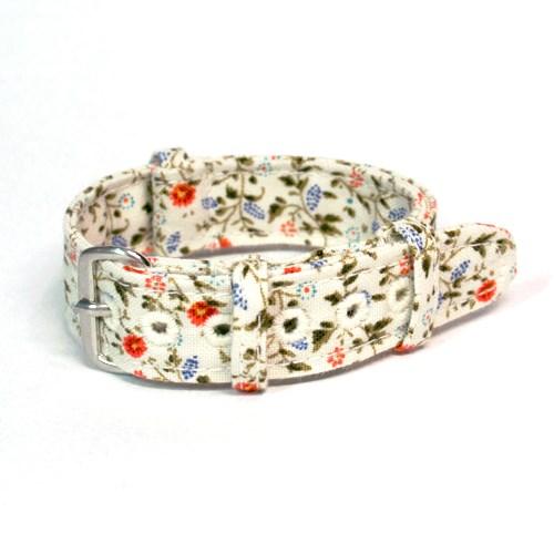 [콧스트랩] Print series 003 꽃무늬 나토밴드 시계줄