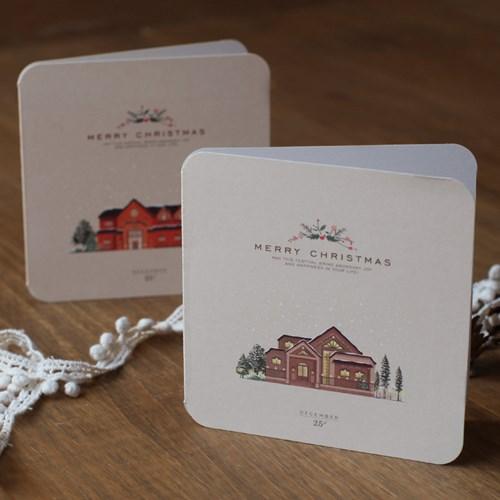 디비디 크리스마스 카드 세트 - Snow Village