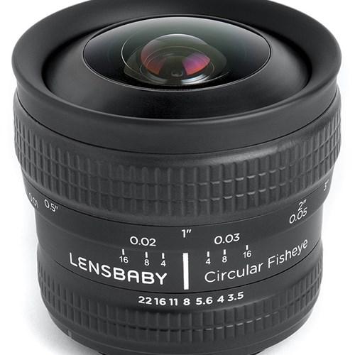 LENSBABY 렌즈베이비 Circular Fisheye 원형 어안렌즈 For NIKON