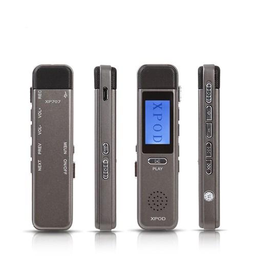 녹음기 보이스레코더 8GB XP707 스피커내장 음성제어