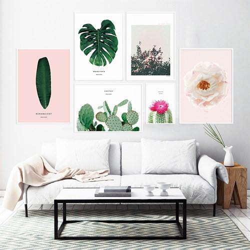 식물시리즈 인테리어 그림 액자 포스터