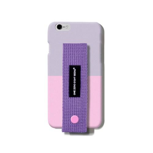 행온 핸드폰케이스 H02 (퍼플) 퍼플+핑크(2tone)