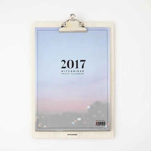 HITCHHIKER 2017 photo calendar