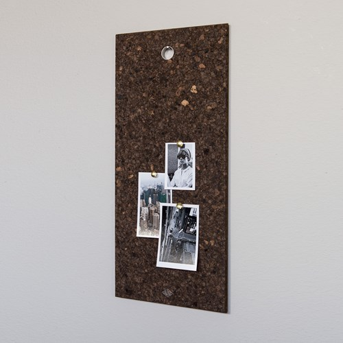 [LOW KEY] Black cork pin board - Small (로우키 코르크 핀보드-S)