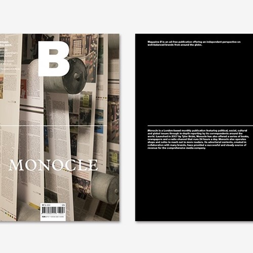 Magazine B Issue No.60 Monocle(Eng.version)