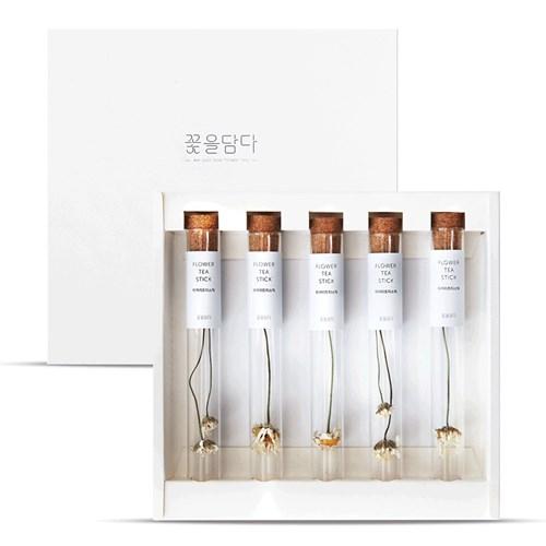 [꽃을담다]마거리트꽃차 티스틱세트