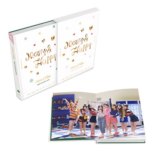 트와이스 (TWICE) - Merry & Happy MONOGRAPH (한정판)