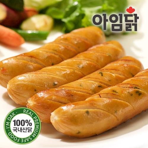 [아임닭] 부드럽고 맛있는 닭가슴살 수제 소시지 6종모음