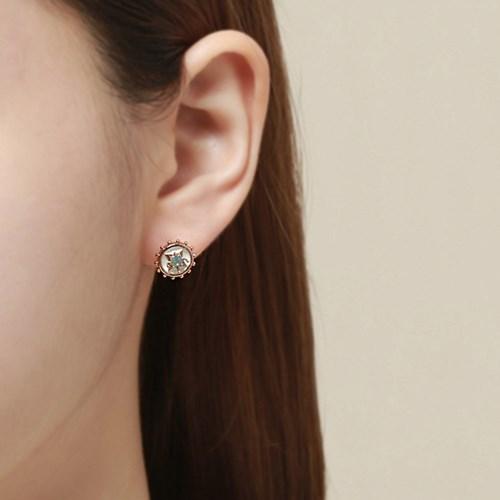 엔틱 썬라이즈 귀걸이