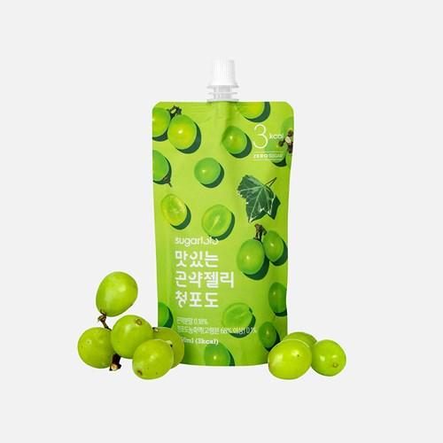 슈가로로 맛있는 곤약젤리 청포도 10개입 (3kcal)